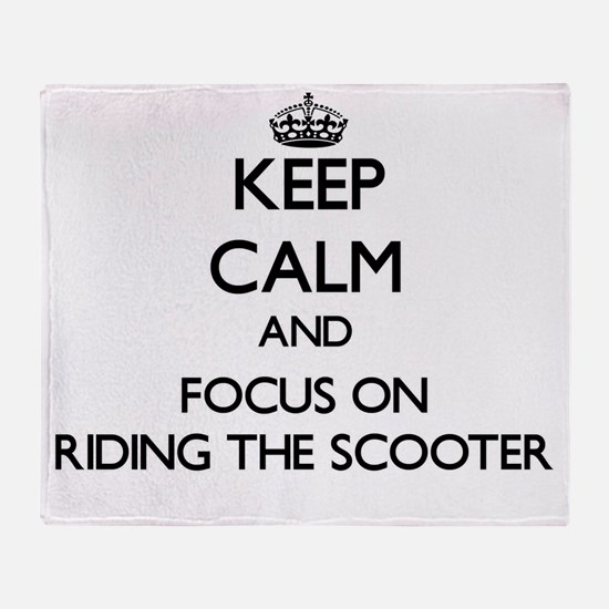 Keep Calm by focusing on Riding The Throw Blanket