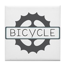 Bicycle Tile Coaster