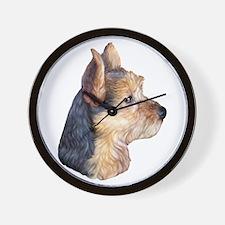 Australian Terrier Bust Wall Clock