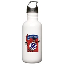 508th PIR.png Water Bottle