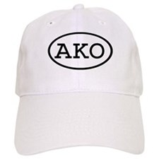 AKO Oval Baseball Cap