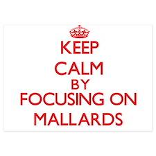 Keep Calm by focusing on Mallards Invitations
