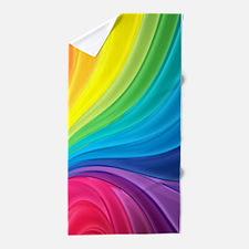 Rainbow Delight Beach Towel