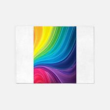 Rainbow Delight 5'x7'Area Rug