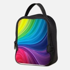Rainbow Delight Neoprene Lunch Bag