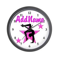 ELEGANT GYMNAST Wall Clock
