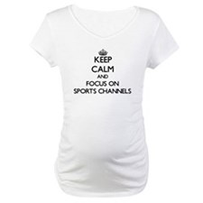 Keep Calm by focusing on Sports Shirt