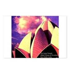 Lotus Temple Postcards (Package of 8)