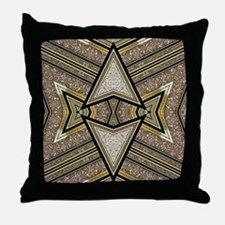 Art Deco Arrowz Throw Pillow