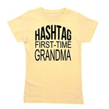 First Time Grandma Girl's Tee