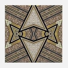 Art Deco Arrowz Tile Coaster