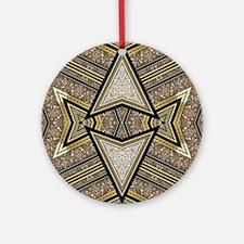Art Deco Arrowz Ornament (Round)