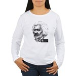 Frederick Douglass Women's Long Sleeve T-Shirt
