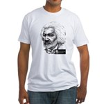 Frederick Douglass Fitted T-Shirt