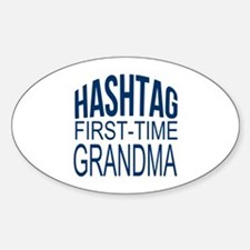 First Time Grandma Decal