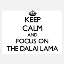 Keep Calm by focusing on The Dalai Lam Invitations
