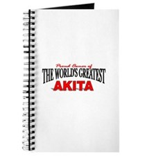 """The World's Greatest Akita"" Journal"