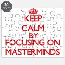 Keep Calm by focusing on Masterminds Puzzle