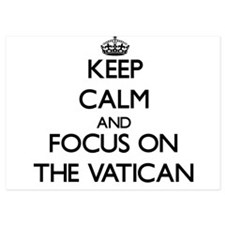 Keep Calm by focusing on The Vatican Invitations