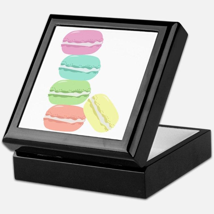 French Macaron Keepsake Box