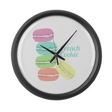 French Cookie Large Wall Clock
