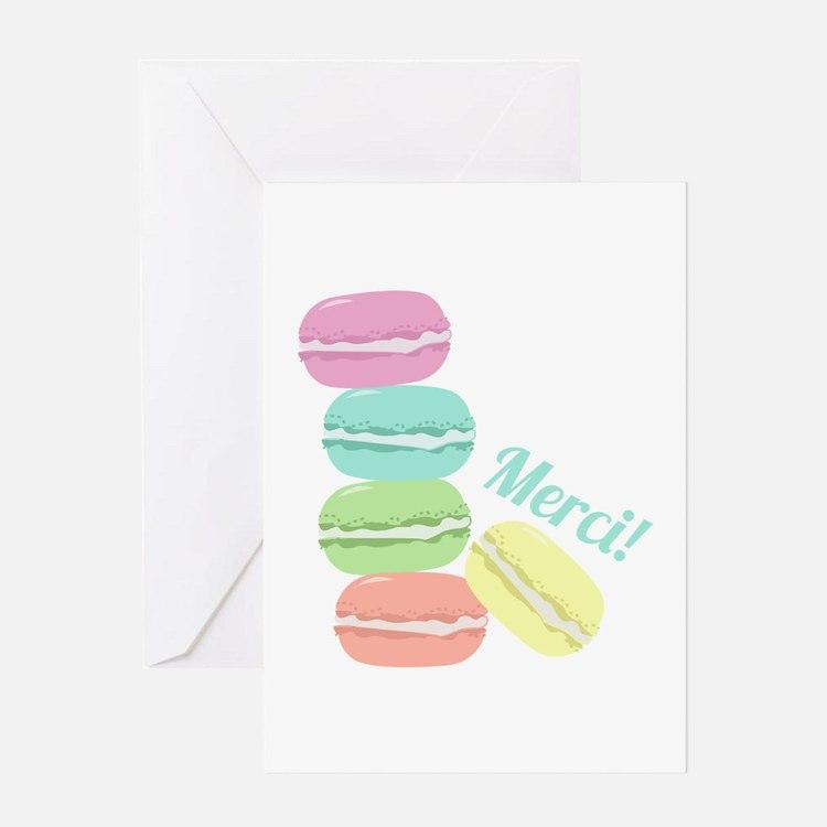 Merci! Cookies Greeting Cards