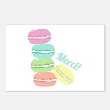 Merci! Cookies Postcards (Package of 8)