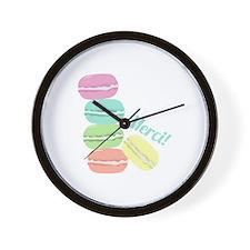 Merci! Cookies Wall Clock