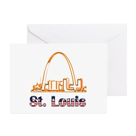 Gateway Arch Greeting Cards (Pk of 10)