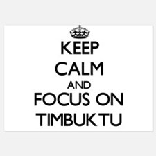 Keep Calm by focusing on Timbuktu Invitations