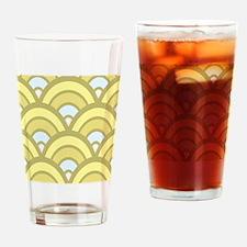 Art Deco Pattern Drinking Glass