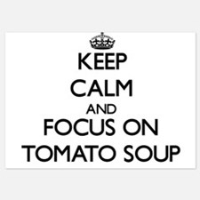 Keep Calm by focusing on Tomato Soup Invitations