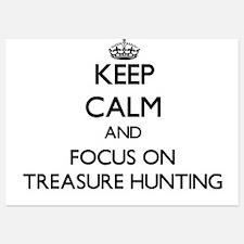 Keep Calm by focusing on Treasure Hunt Invitations