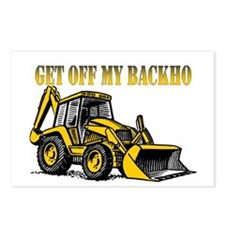 Off My Backhoe Postcards (Package of 8)