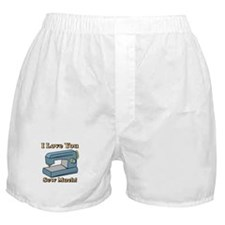 I Love You Sew Much! Boxer Shorts
