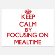 Keep Calm by focusing on Mealtime Invitations