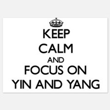 Keep Calm by focusing on Yin and Yang Invitations