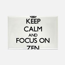 Keep Calm by focusing on Zen Magnets