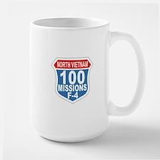 100 Missions F-4 Mugs