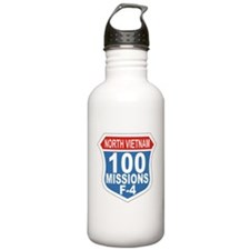 100 Missions F-4.png Water Bottle
