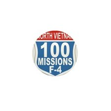 100 Missions F-4.png Mini Button (10 pack)