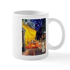 Van Gogh's Terrace Cafe & Bedlington lMug