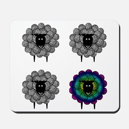 Unique Sheep Mousepad