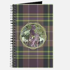 Forest Retreat Plaid Journal