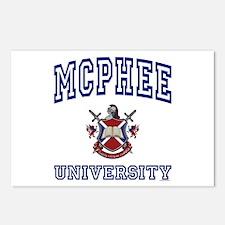 MCPHEE University Postcards (Package of 8)