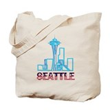 I love seattle Canvas Totes