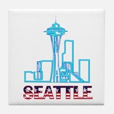 Seattle Space Needle Tile Coaster