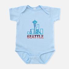 Seattle Space Needle Infant Bodysuit