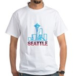 Seattle Space Needle White T-Shirt