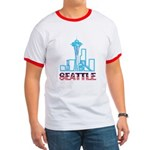 Seattle Space Needle Ringer T
